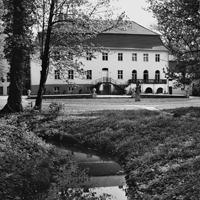 Schloss Blankensee Rückenansicht